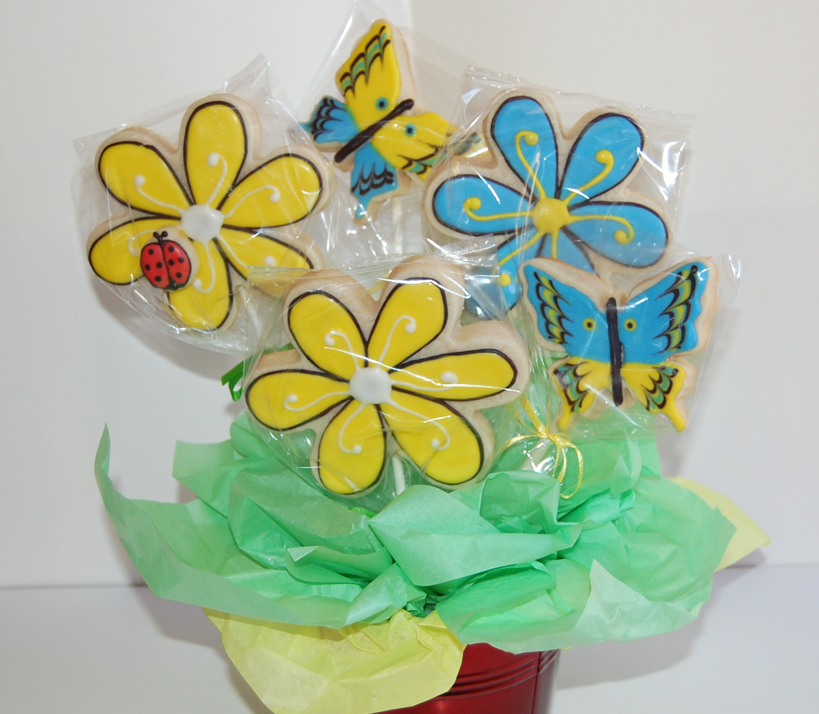 Sugar Cookie Flower and New Beginnings Sugar Cookie Bouquets - St ...