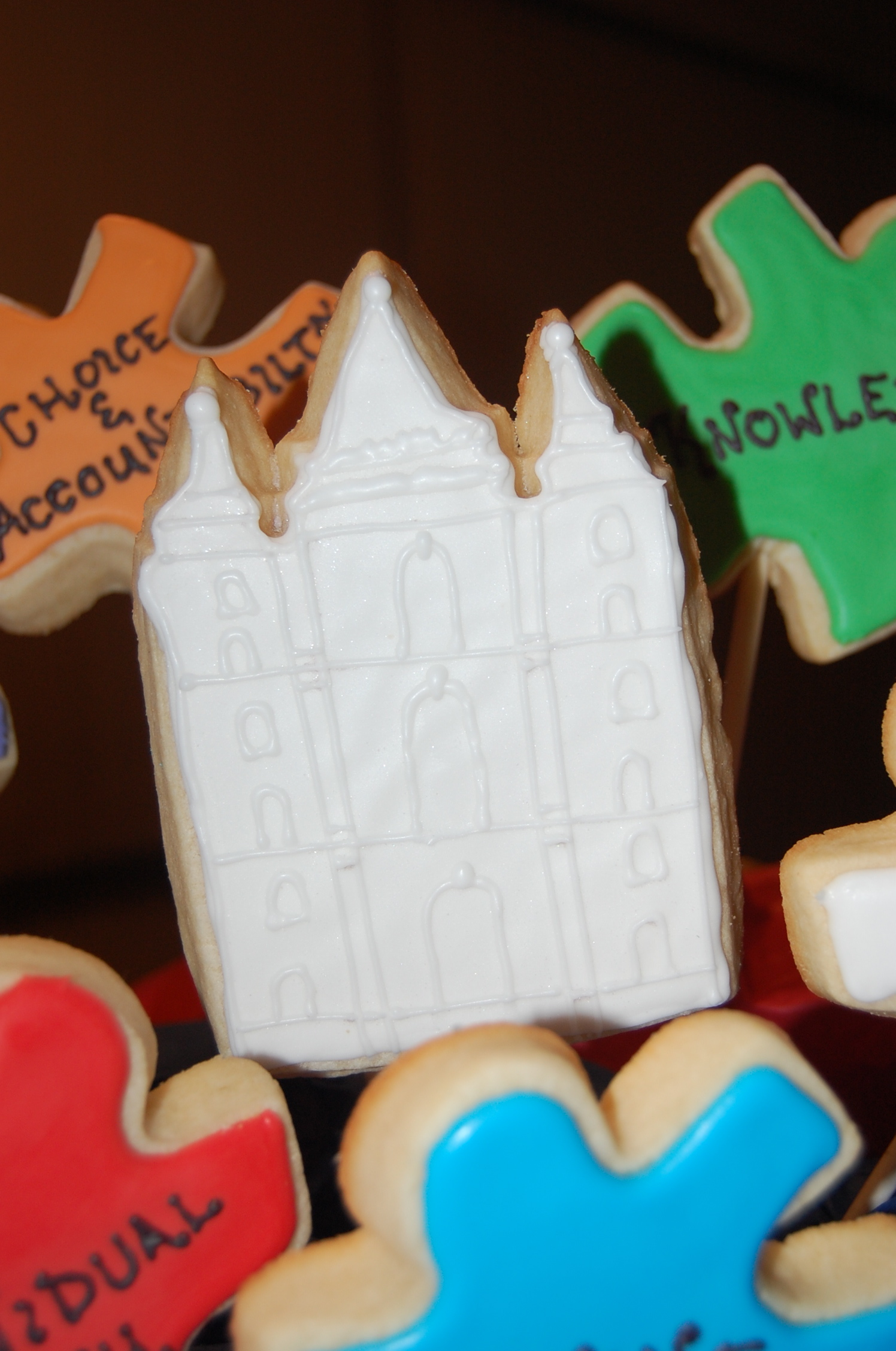 Salt Lake Temple Sugar Cookie