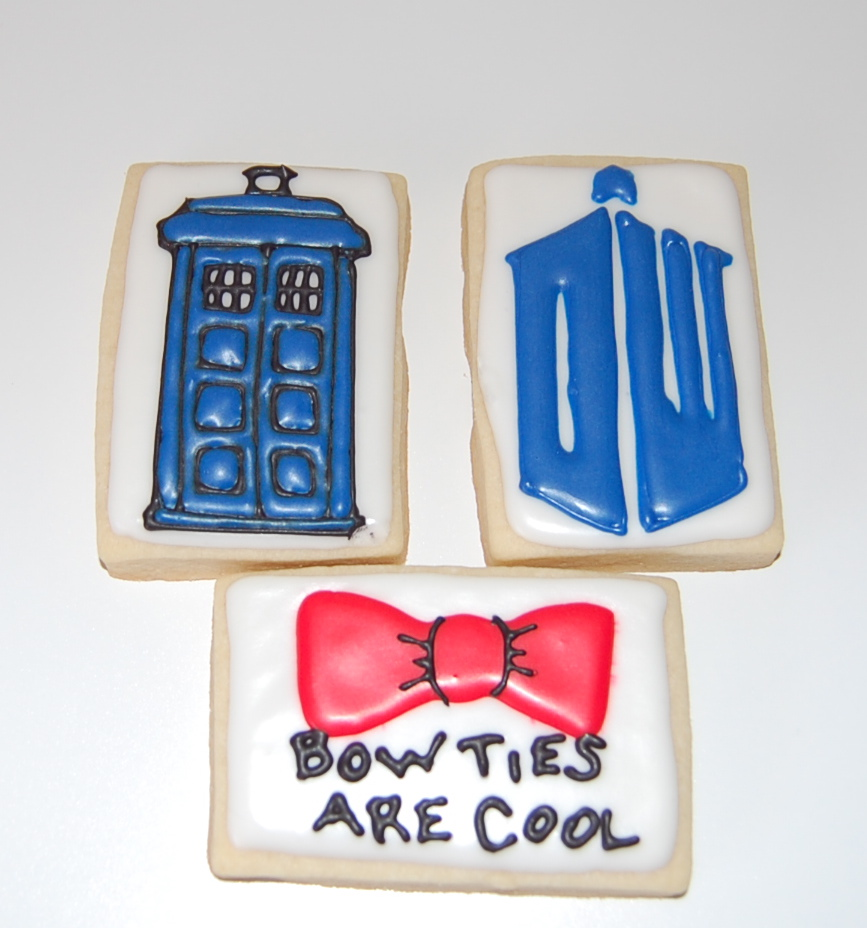 Dr. Who Sugar Cookies