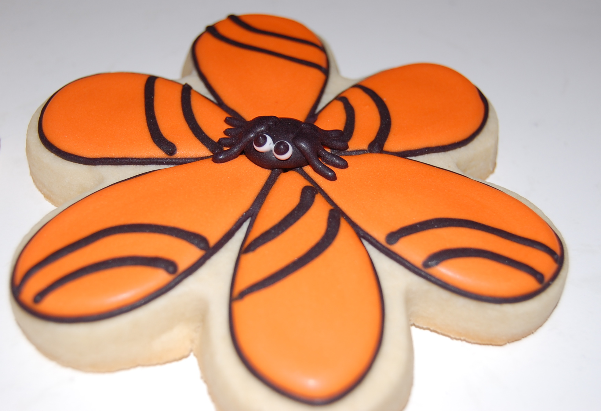 Sugar Cookie with Spider