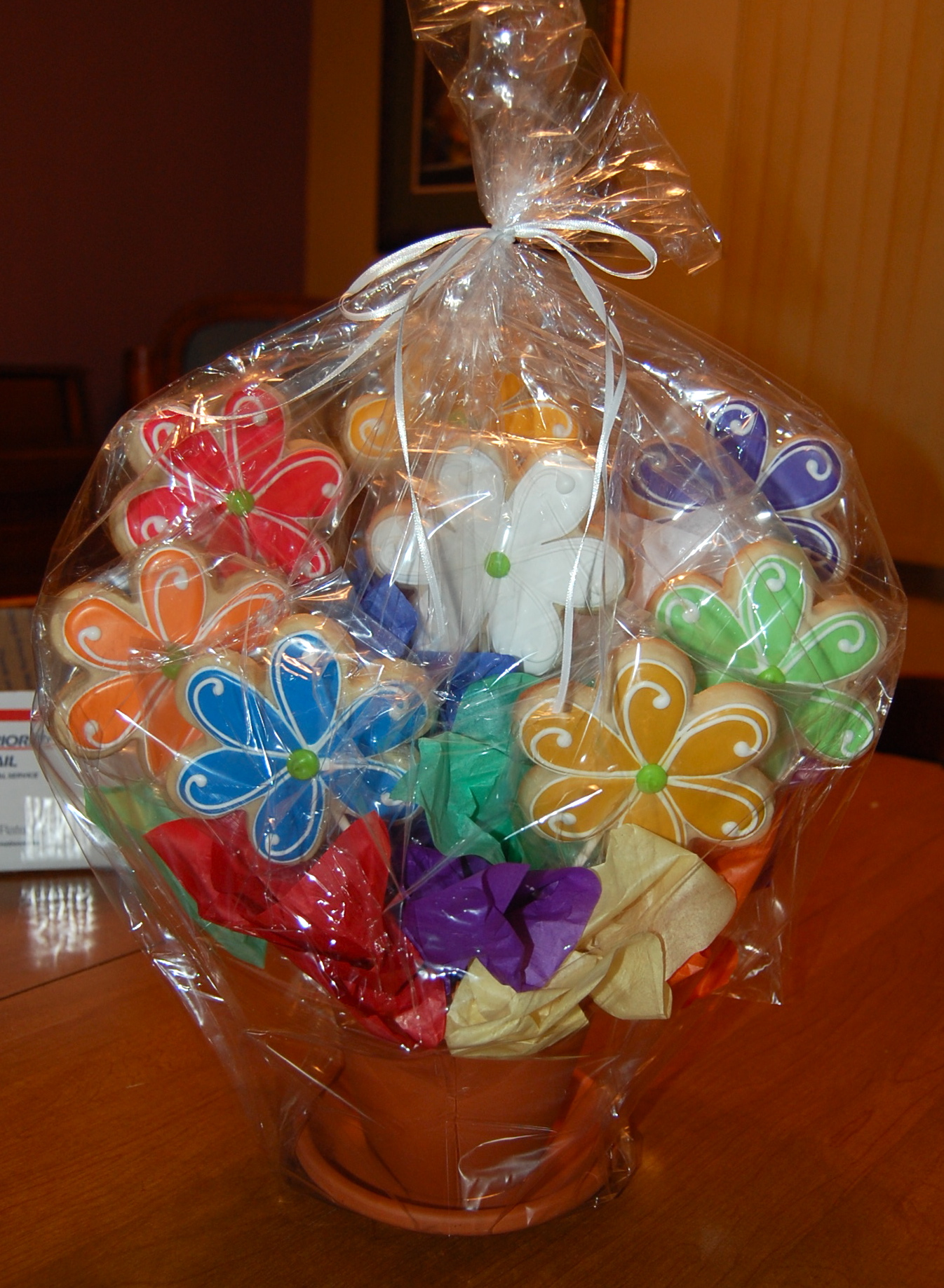 Young Women's Values Sugar Cookie Bouquet for New Beginnings