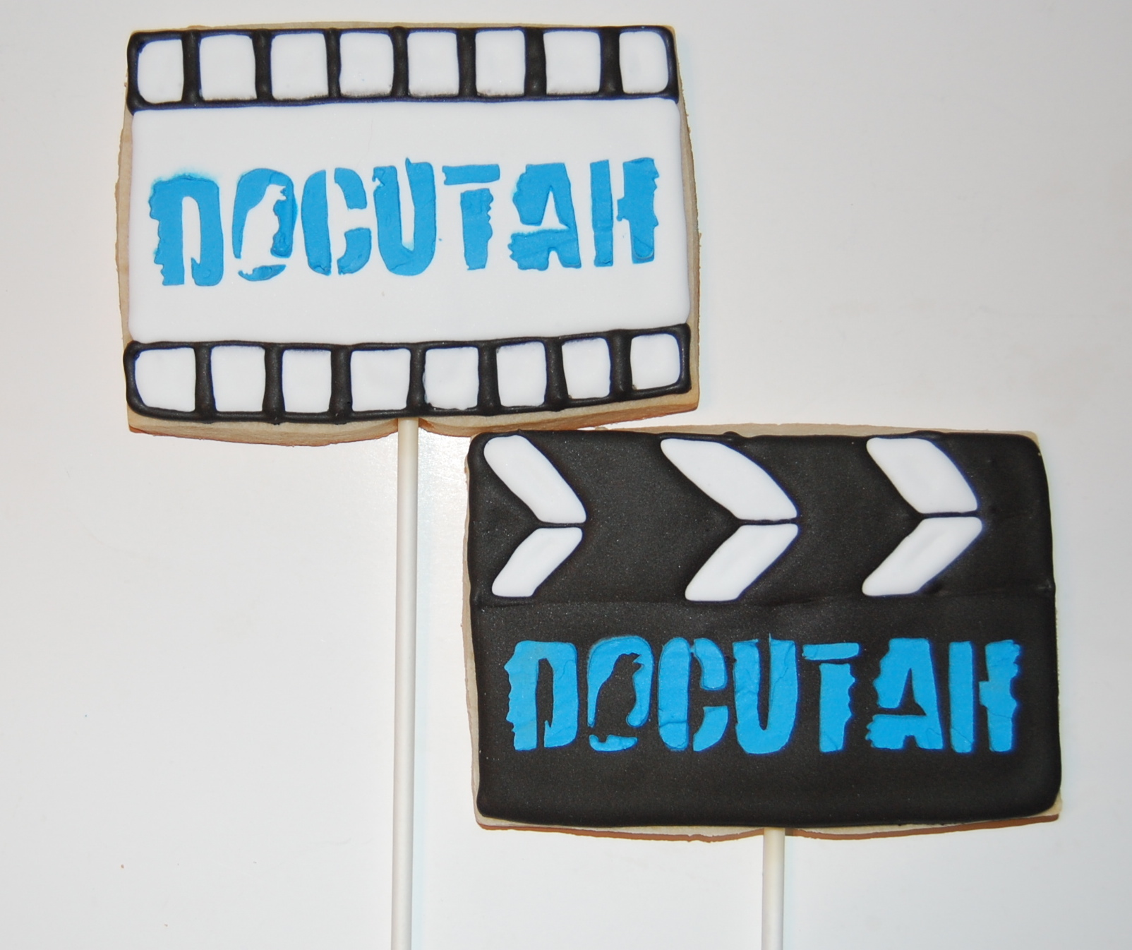 Docutah Movie Themed Sugar Cookies