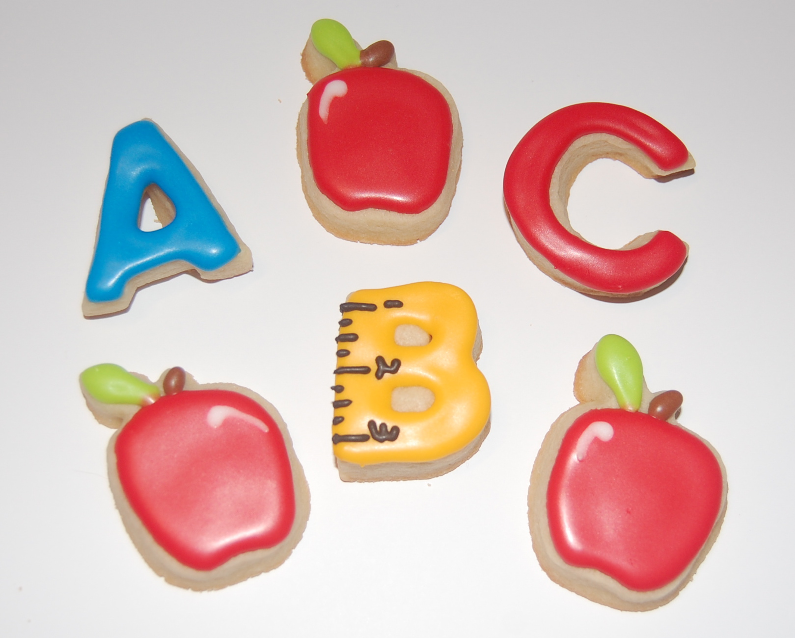 Mini Sugar Cookies for School Teacher