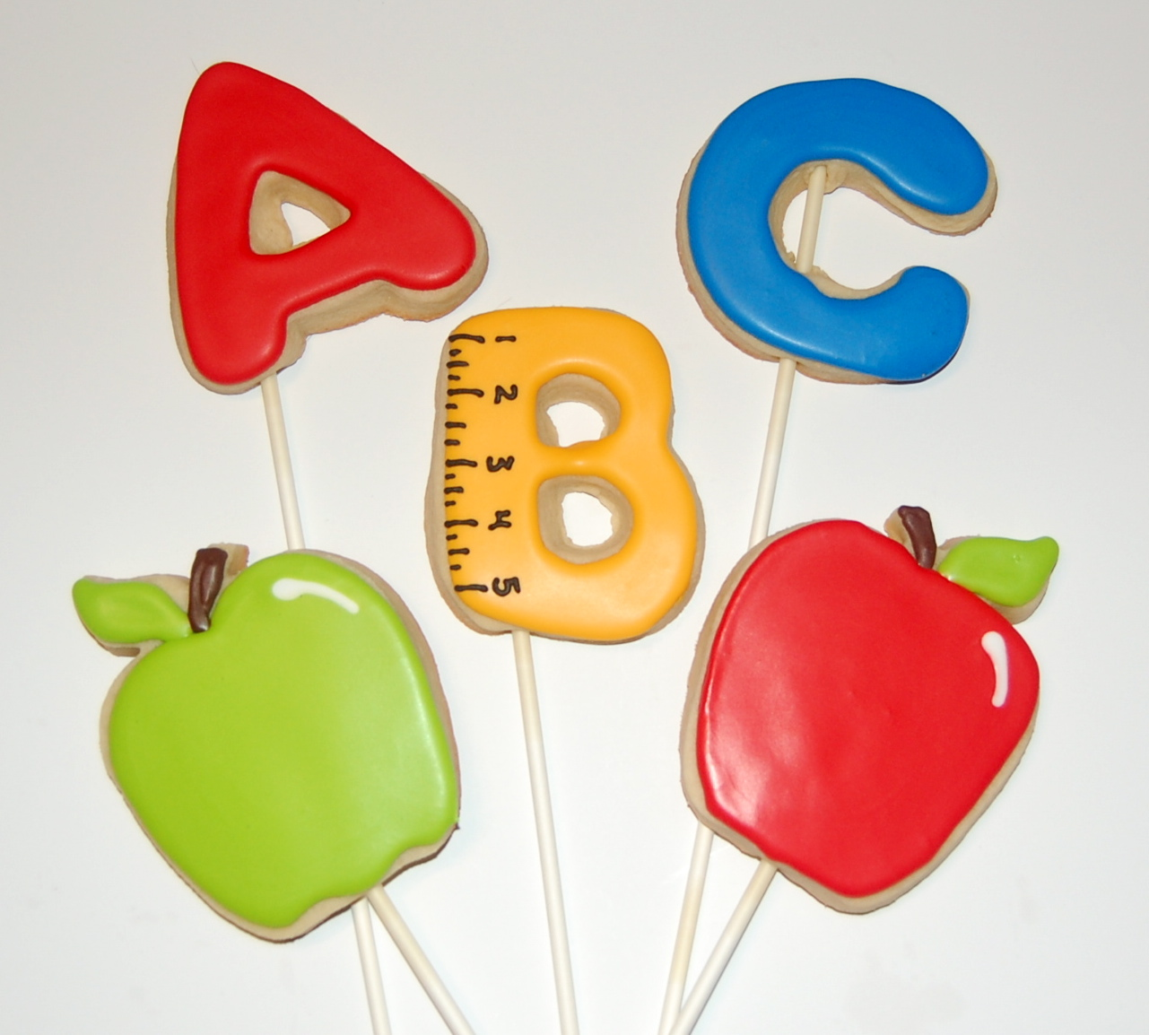 A B C and Apple Sugar Cookies