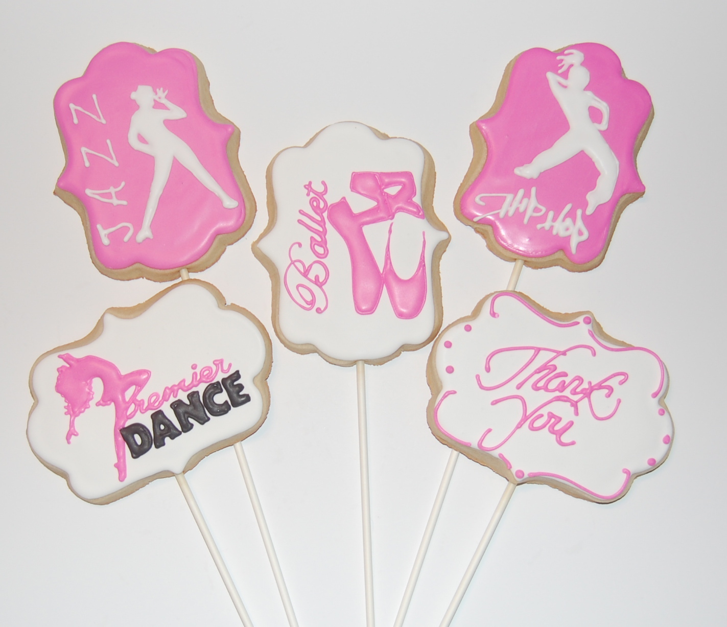Dance Sugar Cookies for Bouquet